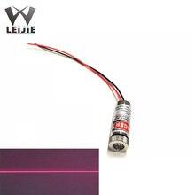 Регулируемый лазерный модуль 5 мВт 650 нм 12*35 мм 3 в с красной