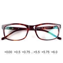 Havana classic acetate reading glasses 0.00 +0.25 +0.5 +0.75 +1.25 +1.5 +1.75 +2.25 +2.5 +2.75 +3.0 +3.25 +3.5 +3.75 +4.0 +4.25