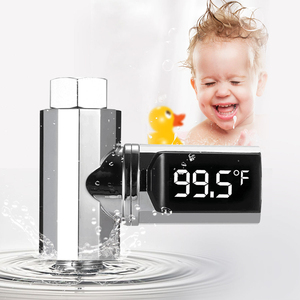 LED Display Water Shower Therm