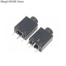 3.5 mm Female Audio Connector DIP 5 Pin 180 degree Stereo Headphone Jack PJ358 PJ-358