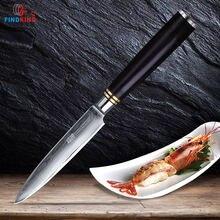 Findking 5 дюймовый универсальный нож 67 слоев японский дамасский