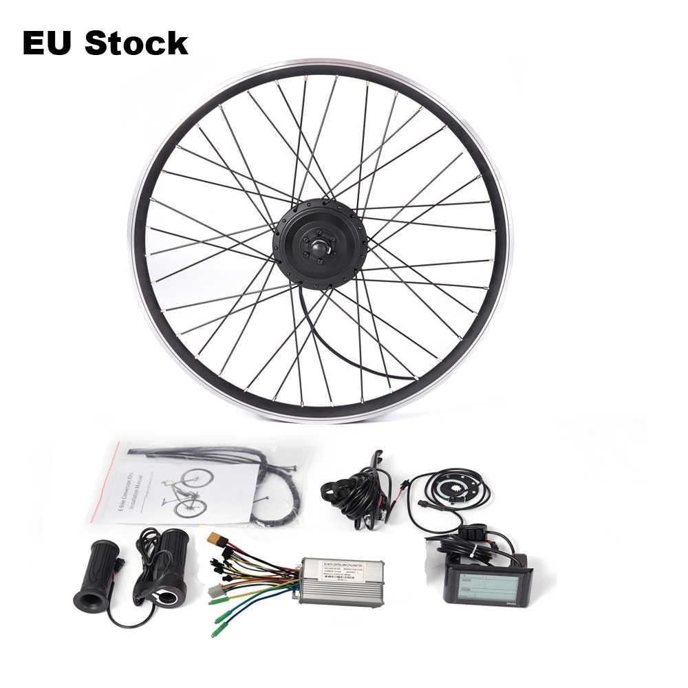 Electric e-Bike Conversion Kit Front Wheel Engine Motor Hub 36V 250W 350W 500W