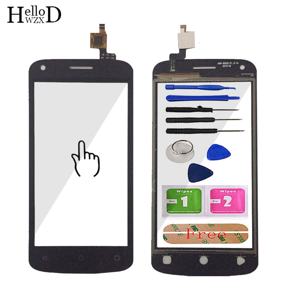 TouchScreen Touch Screen For Fly Nimbus 14 FS456 FS 456 Touch Screen Digitizer Panel Sensor Front Glass Mobile Repair Adhesive