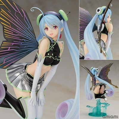 26cm Japanese Anime 4-Leaves Aion Laine Tony <font><b>Sexy</b></font> Girl 1/6 Scale painted PVC Action Figure Model Collection Toys Christmas Gift image