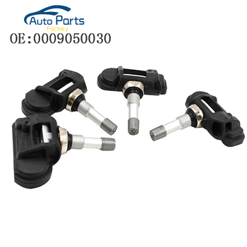 4PCS TPMS Sensor Tire Pressure Sensor For Mercedes 0009050030 670002790 A0009050030 433MHZ