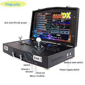 Image 4 - Joystick pandora box dx 3000 em 1, novo, original, suporte para 2 jogadores, projetores de computador, fba mame, ps1 jogos 3d
