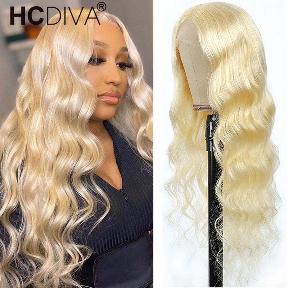 613 Lace Front Wig Human Hair 16inch Wig Short Brazilian Wig Body Wave Human Hair Wigs For Black Women Transparent Lace Wig