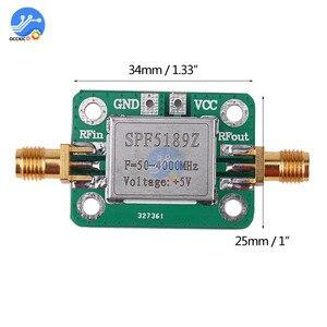 Image 5 - LNA 50 4000 МГц RF усилитель с низким уровнем шума, модуль приемника сигнала, Щит платы для Arduino SPF5189 NF = 0.6dB inm