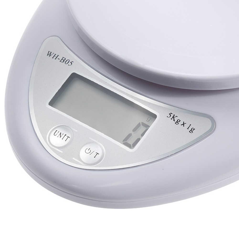 5 キロ/1 グラム、正確なキッチンデジタル LED 電子スケールキッチンレストラン食品重量測定ツールキッチンベーキングツール