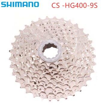 Shimano hg400 CS-HG400-9 rower kaseta 11-25 11-28 11T-32T 11-34t 11-36T MTB 9 prędkości rowerów Freewheel akcesoria rowerowe
