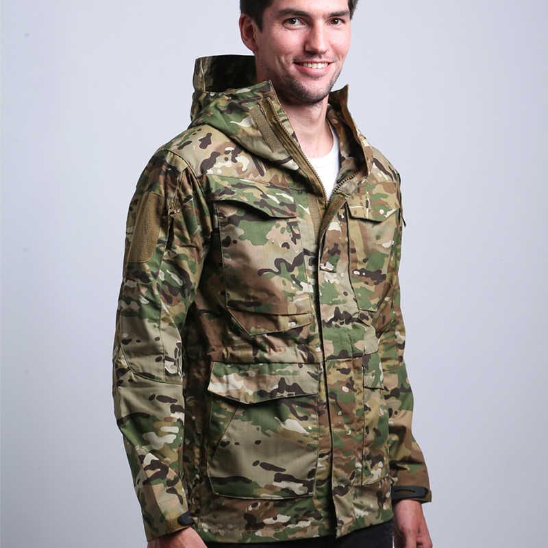 S. archon M65 ejército ropa táctica cazadora hombre invierno otoño chaqueta impermeable, resistente al viento, chaquetas de senderismo