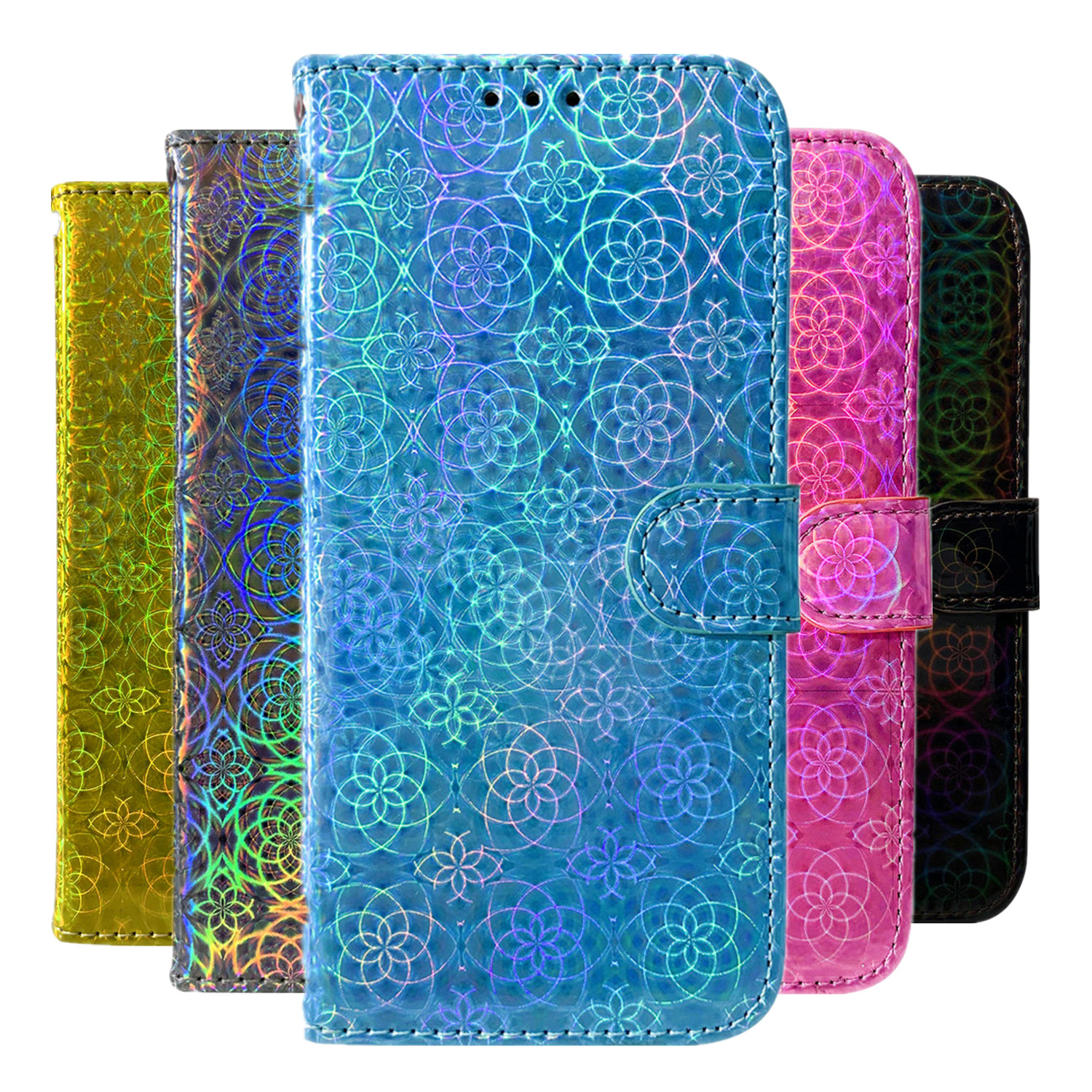 Dazzle Cover For Huawei Mate 30 20 Pro 20 30 Lite Enjoy 10S 9S 9 7S 9 Plus Flip Wallet Case PU Leather Phone Case