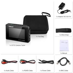 Image 5 - CCTV Tester צג TVI CVI AHD CVBS,4K H.265 MPEG IP מצלמה מבחן מהיר ONVIF 4 מגע מסך נייד יד PoE מצלמה tester