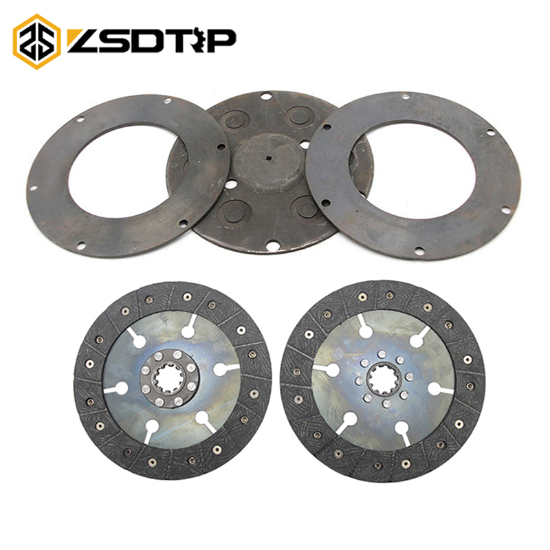 ZSDTRP Motorcycle Clutch Disc Motorcycle Friction Wafer For BMW Original CJK750 Ural M72 R71 KC750 K750 Motorcycle Parts