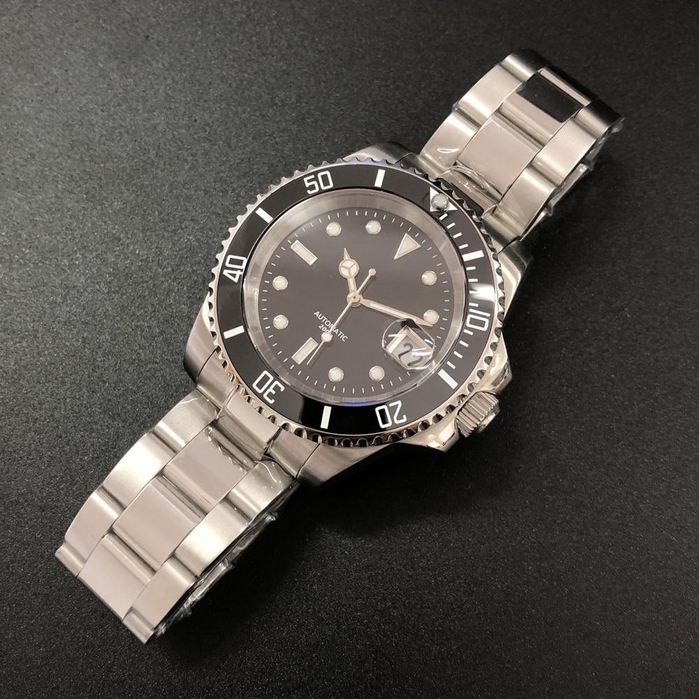 STEELDIVE 1987 316L Steel Stainless 200m Dive Watch Mechanical Japan 8215 Automatic Mechanical Men's Watch 2019 Calendar Luminou