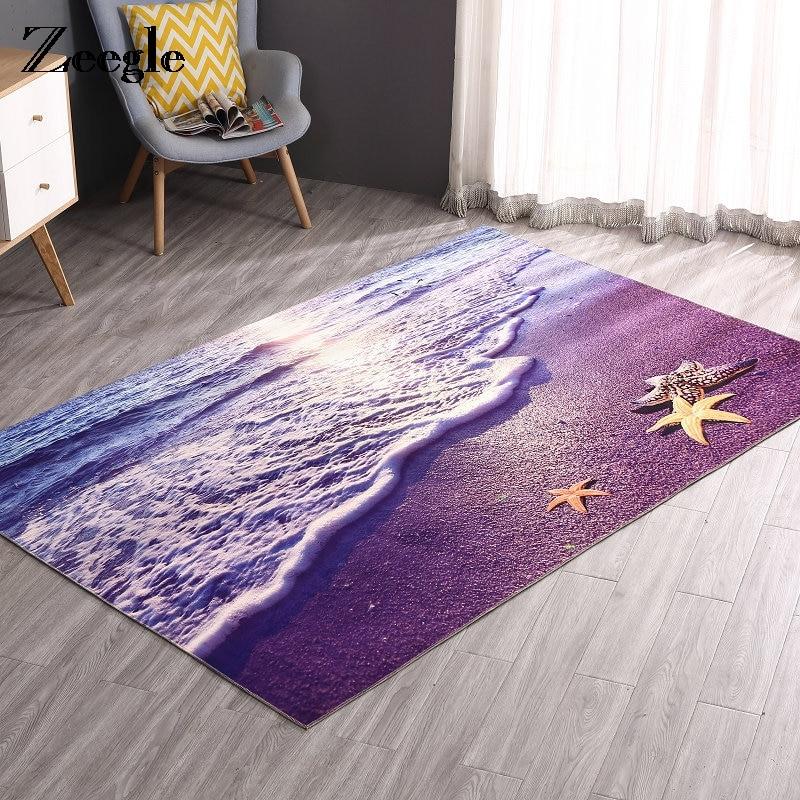 Zeegle 3D Printed Area Rug for Living Room Anti slip Carpet Rugs Home Decor Floor Mat for Kids Room Plus Size Door Mats|Rug| |  - title=