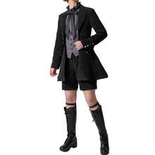 Costume de Cosplay de majordome noir, Costume d'halloween pour adulte, Costume de démon noir, Vintage, Noble, Style gothique, Ciel fantôme ruche