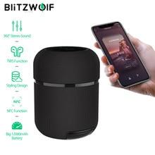 Altavoz bluetooth BlitzWolf BW-AS3 70W 12000mAh inalámbrico con sonido estéreo de 360 ° TWS Diseño y estilismo NFC Barra de sonido inteligente