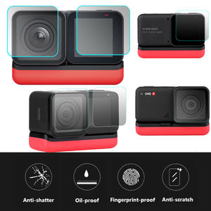 Image 5 - For Insta360 ONE R Twin Edition Tempered glasses Insta 360 ONE R 4k wide angle Camera Len Film Glass Protection Accessories