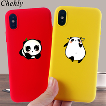 Fat panda Phone Case for IPhone 6s 7 8 11 Plus Pro X XS MAX XR Funny Cat Cases Soft Silicone Fitted  TPU Back Accessories Covers i m angry phone case for iphone 6s 7 8 11 plus pro x xs max xr se funny cases soft silicone fitted tpu back accessories covers