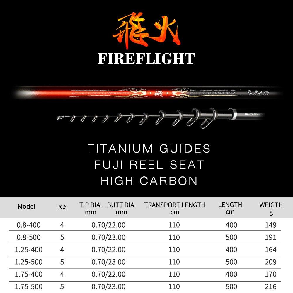 Japanse Import Hoge Carbon Fiber Ultra Licht Super Hard Reef Rock Hengel 4m5m Fuji Wiel Zetel Hand Karper Blackbird zachte Staaf - 2