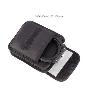 Image 3 - Filtr obiektywu kamery torba typu worek plac 100x100mm i 100x150mm, 100mm System 6 wstaw kawałek na filtr i uchwyt filtra obudowa filtra