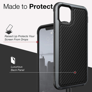 Image 3 - X Doria Defense Lux Phone Case For iPhone 11 Pro Max Military Grade Drop Tested Case Cover For iPhone11 Pro Aluminum Cover Coque