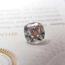 7*7 мм кольцо с муассанитом 150 карат