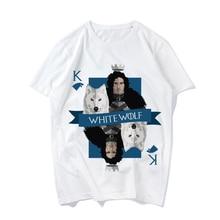 Summer Fashion Short Sleeve T Shirt For Girls Game Of Throne Printed Short-sleeve Tees Unisex T-shirt Tee Women Casual Tshirt