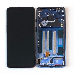 "Image 2 - 6.41 ""원래 Supor Ampled M & Sen OnePlus 7 LCD 화면 디스플레이 + 터치 패널 디지타이저 OnePlus 7 LCD 디스플레이 터치 프레임"