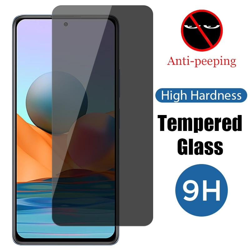 Анти-шпион приватные экранные протекторы для чехол-накладка для Redmi Note 9 9A 9C 9T Magic Анти-шпион закаленное стекло на Xiaomi Redmi Note 9 Pro 9S стекло