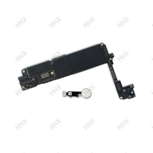 Image 4 - Para iphone 7 placa mãe sem/com toque id, para iphone7 móvel mainboard 4g suporte 32gb/128gb /256gb
