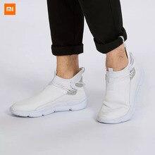 شاومي Uleemark خفيفة الوزن تحلق النسيج أحذية موضة الرجال عادية مريحة تنفس عدم الانزلاق Xiomi أحذية رياضية لمحبي