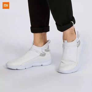 Image 1 - Xiaomi Uleemark קל משקל עף אריגת נעלי אופנה גברים מזדמן נוח לנשימה החלקה Xiomi סניקרס למאהב