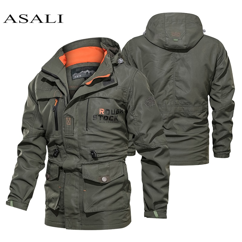 Outdoor Soft Shell Fleece Men Women 2020 Workwear Windproof Waterproof Breathable Warm Hiking Camping Climbing Fishing Jacket