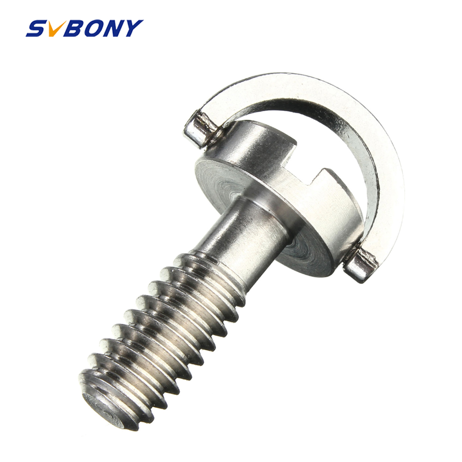 1/4 -20 24mm Screw Camera Screw For Quick Release Plate Folding D-Ring Adapter Tripod Monopod Quick Release Plate Camera Screw