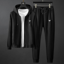 Men's spring and autumn casual wear with new handsome coat and sportswear