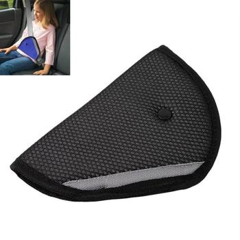 Regulator pasa bezpieczeństwa trwałe bezpieczne dopasowanie samochodu dla dziecka i dorosłych pas bezpieczeństwa regulacja urządzenia Kid Protector pozycjoner oddychający tanie i dobre opinie CN (pochodzenie) 22cm Nylon + Mesh 12cm Kids Car Seat Belt Adjuster