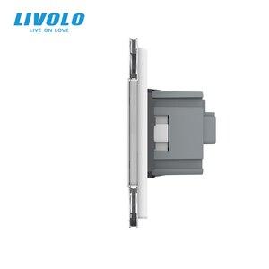 Image 5 - Электрическая розетка Livolo C7C2EU 11/12/13/15, розетка настенная из закаленного стекла, европейский стандарт, 16 А, 4 цвета