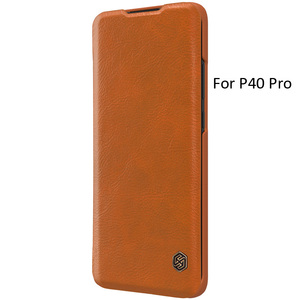 Image 4 - Nillkin Qin Book Flip Leather Case Cover For Huawei P40 Pro Pro+ Plus
