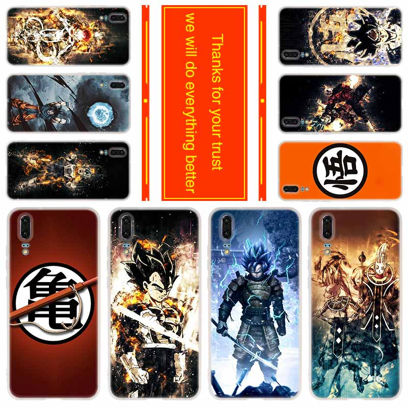 Phone case for Huawei Mate 30 20 10 lite Pro X Cover Y9 2018 Y7 2019 Nova 3i 5 5i 5t DRAGON BALL Z Zetto Anime