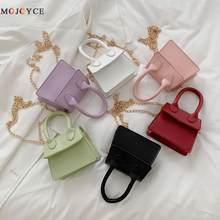 Mini sacs à main de marque pour femmes, jolis petits sacs à bandoulière de styliste, pochette à chaîne à rabat Pure, 2020