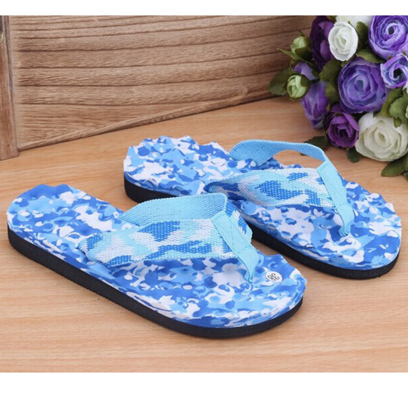 Slippers Flats-Shoes Flip-Flops Beach-Sandals Men Summer Anti-Slip Casual High-Quality