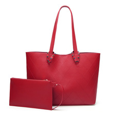 MONNET CAUTHY صيف جديد مستحضرات التجميل العملي سعة كبيرة لينة حقيبة كتف بولي Solid بلون أحمر أسود براون مكتب حقائب سيدات
