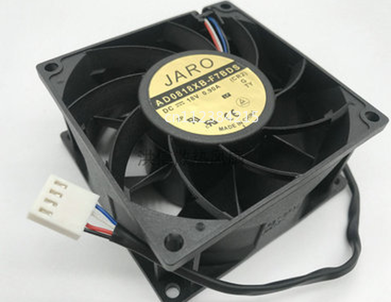 Free Shipping For AD0818XB-F7BDS 18V 0.9A 80*80*38mm Cooling Fan Processor Cooler Heatsink Fan