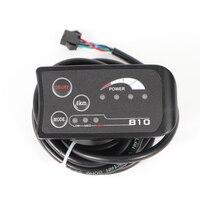 Elektrische Fahrrad Upgrade Zubehör Led anzeige Controller 4 pin Instrument Display Controller elektrische roller-in E-Bike Zubehör aus Sport und Unterhaltung bei