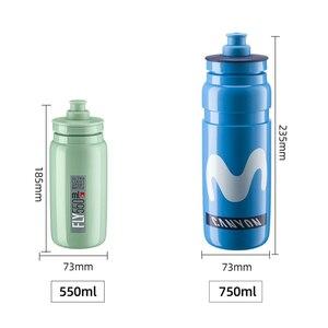 Image 2 - 2020 new超軽量自転車水ボトルエリートチームエディションスポーツケトルmtbサイクリング自転車ロードレースボトル550ミリリットル
