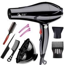 Original EU plug sèche cheveux professionnel ménage coup sèche cheveux vent chaud et froid 1800W outils de coiffage pour maison sèche cheveux