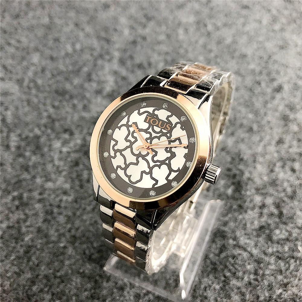 TOUSES Pulsera Watch Women Quartz Casual Reloj Watches Bracelet Watch Ladies Quartz Watch Leather Fashion Sport TOUSES Joyas