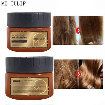 MO TULIP 60ML Magical 5 Seconds Repairs Hair Treatment Mask Damage Hair Restore soft and smooth Hair & Scalp Treatment 1